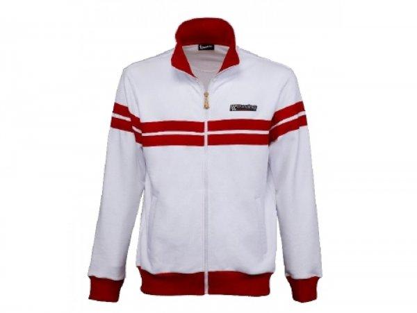 """Hoodie -VESPA """"Racing Sixties""""- white  L"""