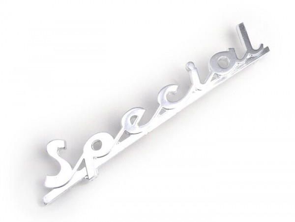 Schriftzug Rahmen hinten -PIAGGIO- Vespa Special - Vespa V50 Special (ab Bj. 1969)