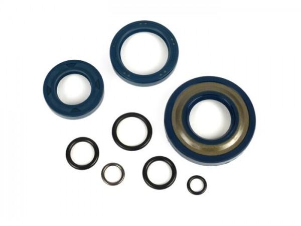 Wellendichtringsatz Motor -CORTECO- Vespa V50, PV125, ET3, PK50, PK80, PK125 S - inkl. O-Ringe