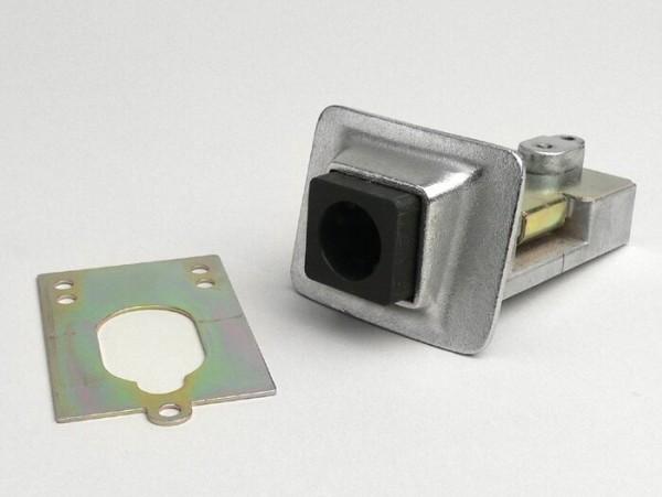Seat lock -PIAGGIO- Vespa PX EFL, T5 125cc - chrome