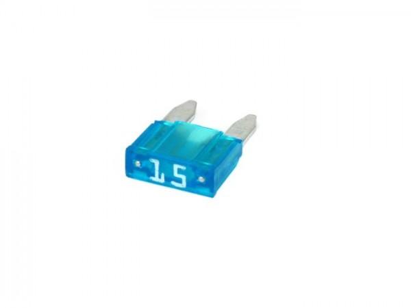 Sicherung -FLACH-SICHERUNG (Type MINI, FK1) -15A - türkis