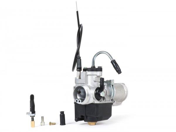 Kit carburador -POLINI 2 agujeros, 24mm Dellorto PHBL, distribuidor giratorio- Vespa V50, PV, ET3