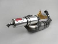 Auspuff -PM TUNING 59 X Tech- Piaggio LC 2-Takt Maxi (mit Endschalldämpfer)