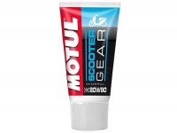 Gearbox oil -MOTUL Scooter Gear- Scootermatic SAE 80W90, GL4- 150ml - Motul recommendation for Vespa GT/GTS/GTV125-300, LX/LXV125-150