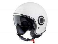 Helmet -VESPA VJ1- open face helmet, white - XS (52-54cm)