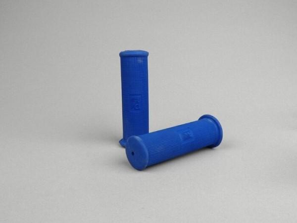 Griffe -OEM QUALITÄT- Vespa Oldie Ø=21mm l=120mm, Piaggio 4-Eck (-1968)- VNB3T, VNB4T, VNB5T, VB1T, VBA, VBB, VGL1T, Touren, T4 (VGLA, VGLB), GS150 (VS2-5), GS160/GS4 - Blau