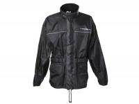 Regenjacke -SCEED 42- Textil, schwarz - XL