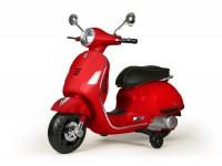 Moto eléctrica para niños -Vespa GTS- rojo