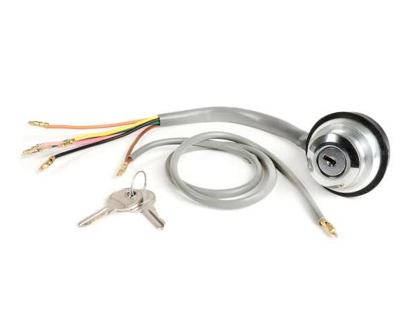 Ignition switch -CASA LAMBRETTA- Lambretta LI (series 3), LIS, SX, TV (series 2-3), DL, GP - models w/o battery