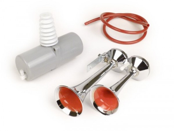Claxón -POLI Micro Tromba- claxón de aire - pera de goma para pie