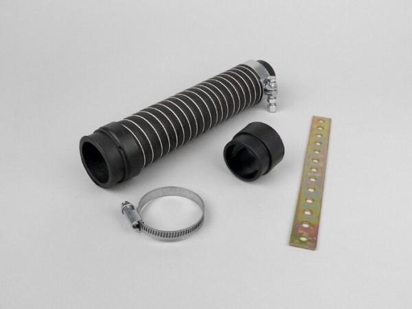 Luftfilterschlauch -MARCHALD- Marchald 220mm - AW.39mm, 36mm (Dellorto PHVA, PHBN, PHBL, PHVB, Mikuni VM16, VM20, ARRECHE 17,5)