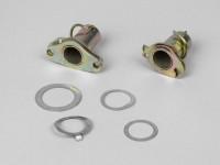 Schaltzug- Gaszugrollen Set -VESPA ohne Lenkerblinker- Vespa V50, V90, SS50, SS90, PV125, ET3, Rally180 (VSD1T), Rally200 (VSE1T), Sprint150 (VLB1T), TS125 (VNL3T), GT125 (VNL2T), GTR125 (VNL2T), SS180 (VSC1T) - Ø=24mm