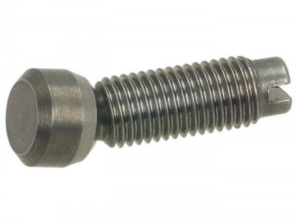 Screw for rocker arm valves -PIAGGIO- Vespa GT 250 (ZAPM45102), Vespa GT L 125 (ZAPM31100, ZAPM31101), Vespa GT L 200 (ZAPM31200), Vespa GTS 125 (ZAPM31300), Vespa GTS 250 (ZAPM45100, ZAPM45101), Vespa GTS 300 (ZAPM45200, ZAPM45202, ZAPMA3300), Vespa