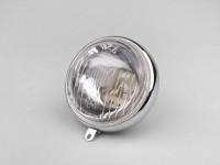 Scheinwerfer -SIEM Ø=95mm- Vespa Wideframe V1T, V15T, V30T - Glas, inkl. Zierring