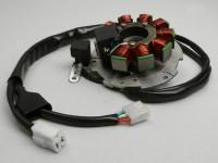 Ignition -PIAGGIO stator- Piaggio 125-180 cc LC 2-stroke