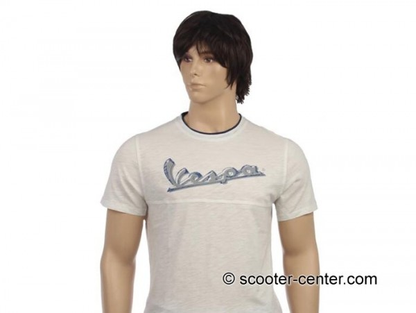 T-Shirt -VESPA Original- white - XL