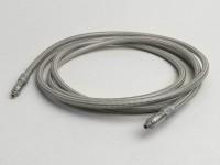 Brake hose -SPIEGLER MODULAR- Aprilia SR - rear (1970mm)