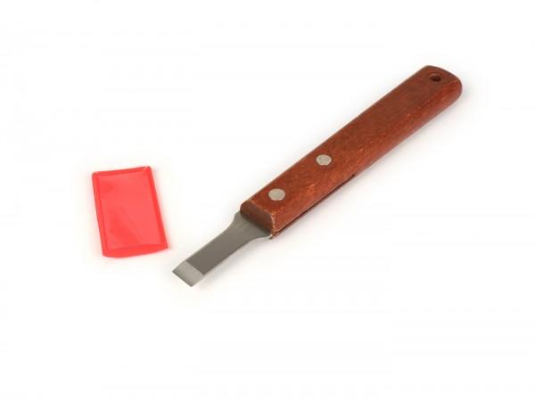 Spatola rimuovi guarnizione -BUZZETTI- acciaio inox, 10mm