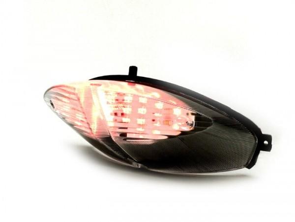 Rücklicht -BGM ORIGINAL LED- Peugeot Speedfight2 - Schwarz