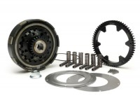 Clutch incl. primary drive set -BGM Pro Superstrong CR80, type Cosa2/FL- primary gear BGM Pro 62 tooth (straight) - Vespa PX80, PX125, PX150, PX200, Cosa, T5, Sprint150 Veloce, Rally, GTR, TS125, Super150 (VBC) - 25/62 tooth (2.48)