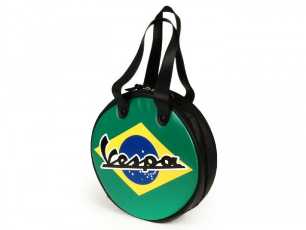 Bag -VESPA Ø35cm- black - Brasil