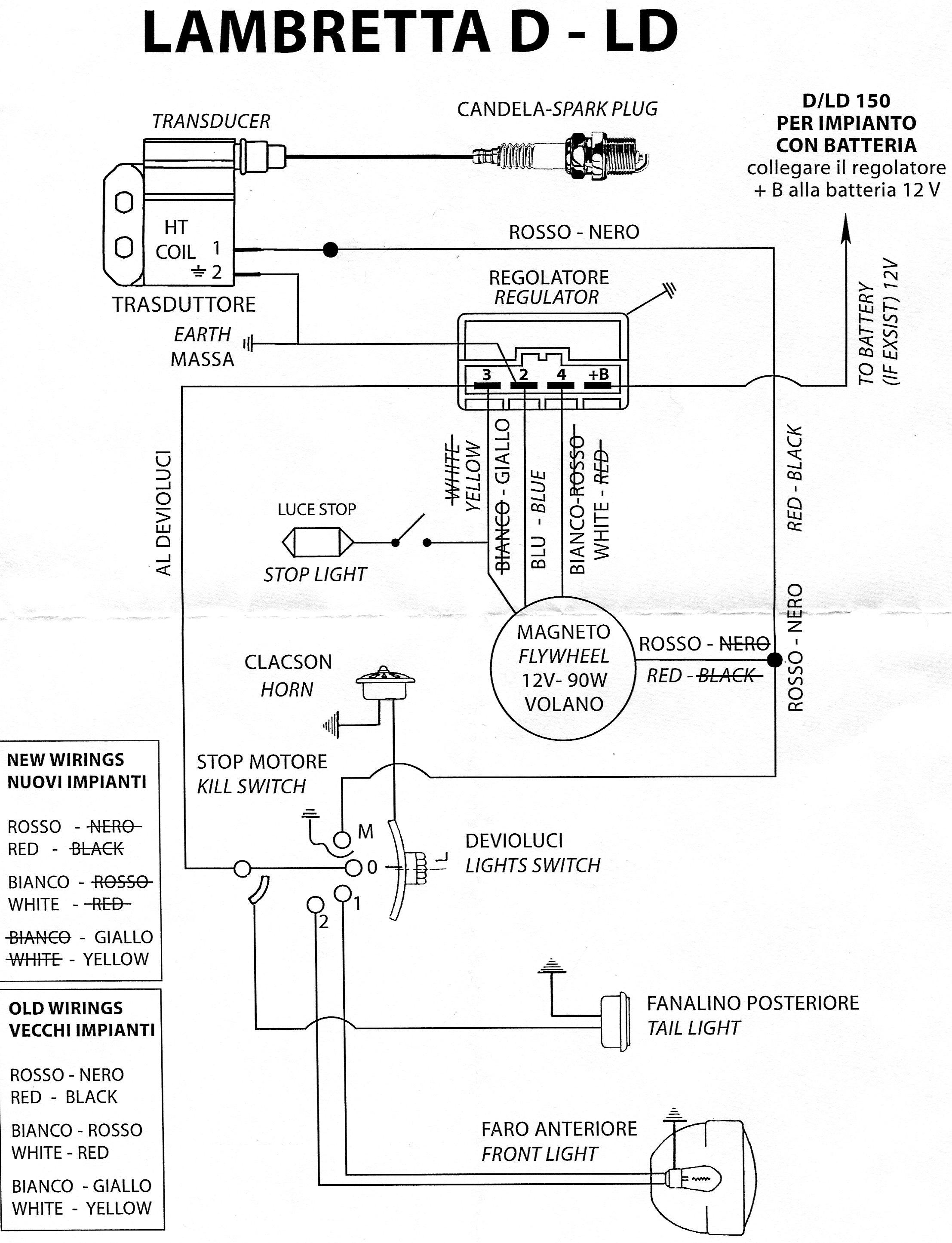 Diagram  Casatronic Ignition Lambretta Wiring Diagrams