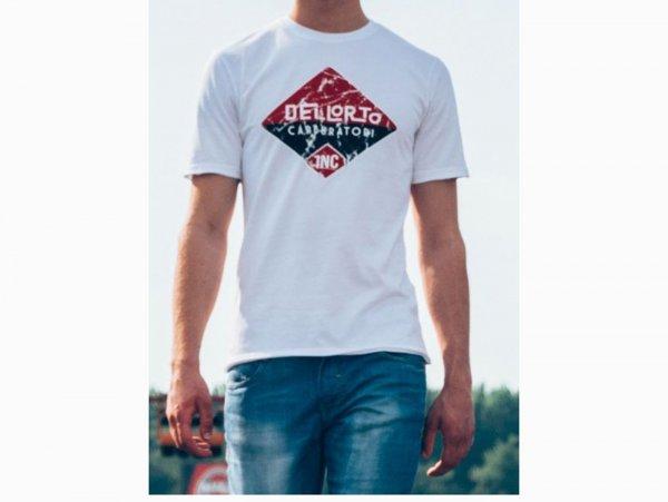 """T-Shirt -DELLORTO, """"INC 1933""""- white - XL"""