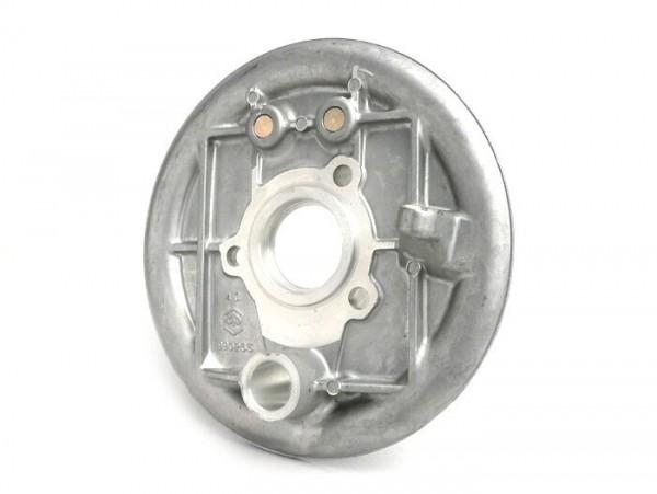 Bremsankerplatte hinten -OEM QUALITÄT- Vespa V50 (V5A1T ab Nr.66191), V50 S (V5SA1T ab Nr. 11160), V90 (V9A1T ab Nr. 19364), Nuova 125, PV125, ET3