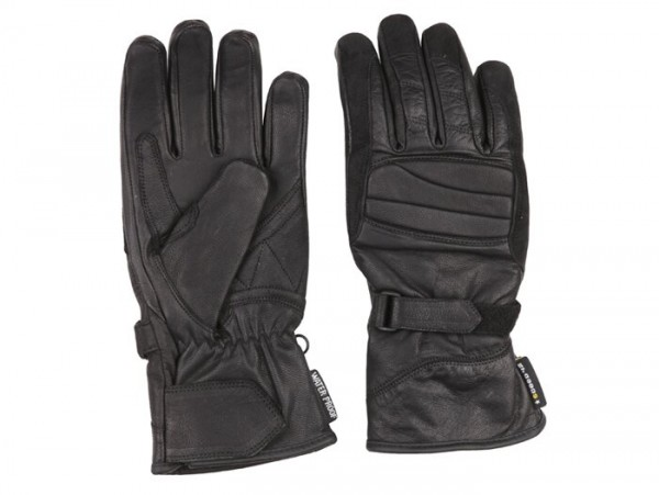 Gloves -SCEED 42 Start- leather with mambrane, black - 09