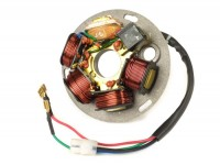 Ignition -OEM QUALITY stator- Vespa PX EFL (without battery 1984-2011), PX EFL Elestart (with battery 1998-2011), Cosa - 5 wire
