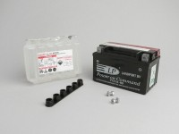 Battery -Standard YTX7A-BS- 12V 6Ah - 150x87x93mm (with acid)