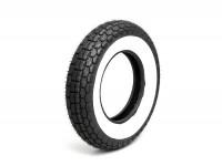 Tyre -SAVA/MITAS B13 white wall- 3.50 - 8 inch TT 46J