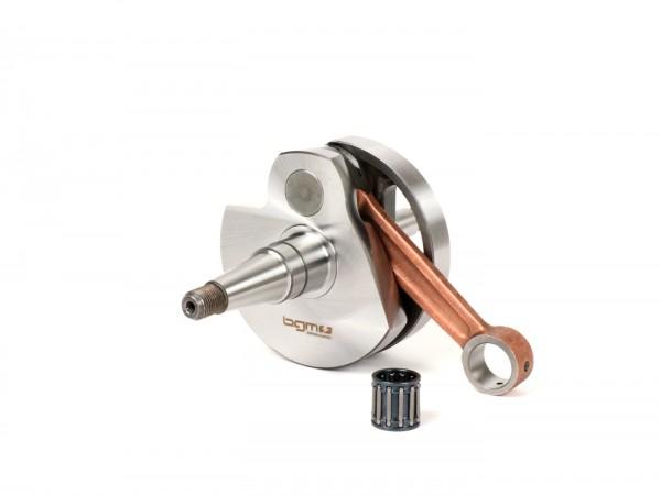 Crankshaft -BGM Pro Touring (rotary valve) 60mm stroke, 105mm conrod- Vespa PX125, PX150