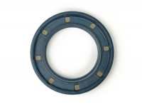 Oil seal 33x52x6mm (used for crankshaft flywheel side inner Lambretta LI (series 2-3), LIS, SX, TV (series 2-3), DL, GP)