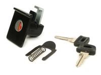 Glove box lock -CIF- Vespa PX EFL (1984-), T5 125cc - black