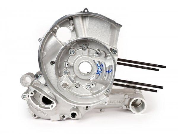 Cárter del motor -MALOSSI VR-One, admisión de válvulas de láminas, cárter mecanizado para eje King hasta 64mm de carrera- utilizado para Malossi 210/221 Sport/MHR, Quattrini M232/M244 - Vespa PX200 Elestart