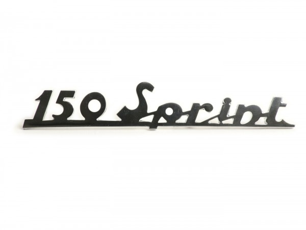 Badge frame rear -OEM QUALITY- Vespa 150 Sprint - Vespa Sprint150 (since 1965)