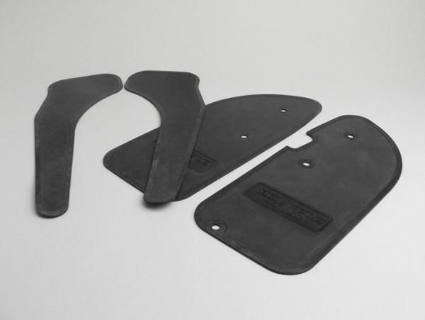 Floor mat -LAMBRETTA- Serveta (4 pcs) - black