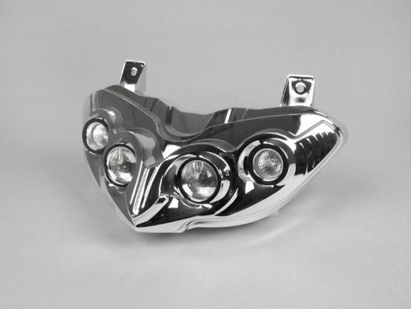 Scheinwerfer -DMP- Gilera Runner RST 50-200 ccm (ab Bj. 2006) - Chrom