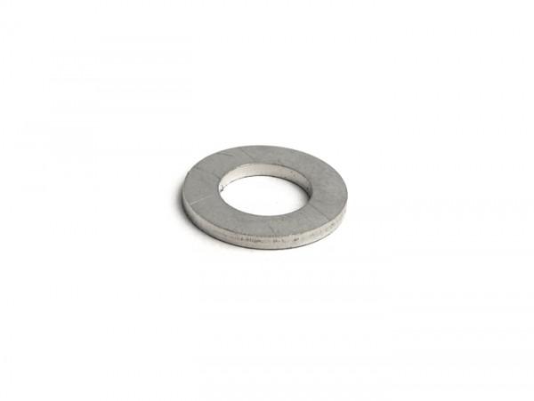 Washer for centralising front hub in fork link -LAMBRETTA M12- Lambretta C, LC, D, LD, E, F, LI, LIS, SX, TV, DL, GP, J, Lui - stainless steel