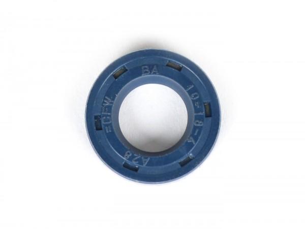 Retén 10x18x4mm - (utilizado para eje de embrague Vespa PK XL2 - bomba de agua Minarelli 50 ccm (tipo MA, CA)