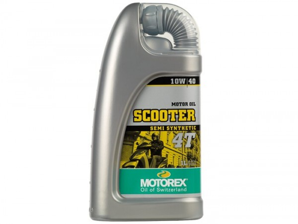 Öl - Motoröl -MOTOREX Scooter 4T- 4-Takt SAE 10W-40 synthetisch - 1000ml