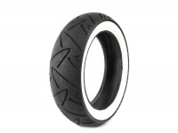 Tyre -CONTINENTAL Twist White Wall- 120/70 - 12 inch TL 58P