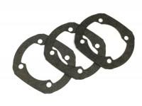 Kit de juntas para pie del cilindro -POLINI aluminio 133cc Evolution, Parmakit SP09 130/135/144cc- 0,25mm/0,50mm/0,75mm