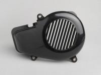 Flywheel cover -CLASSIC- Minarelli 50cc AC vertical cylinder - black - BOOSTER, BUMP50, BWS50, SLIDER50, SPY, SR50 (-1994), STUNT, ZUMA50, AMICO
