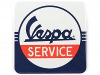 "Untersetzer -Nostalgic Art- Vespa ""Service"", 9x9cm"