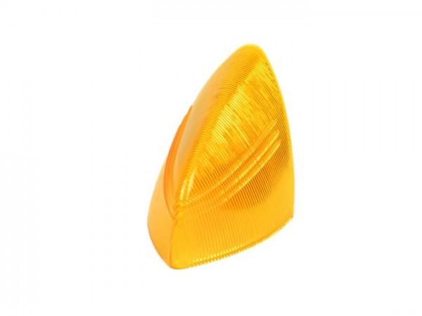 Rücklichtglas (Bremslicht) -SIEM- Vespa VNA2T, VBA1T (bis 1958), GS150 / GS3 (VS4T/VS5T bis 1958) - Orange