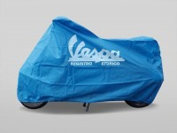 Scooter cover -VESPA Indoor- blue