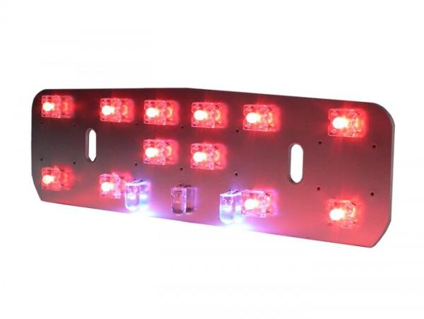 Rücklicht -BGM PRO LED- LAMBRETTA nur Reflektor- LI (Serie 1-2, bis Bj. 1960), TV (Serie 1-2, bis Bj. 1960) - 12V