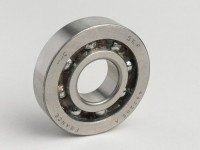 Ball bearing -BB1-3055B- (20x52x12mm) cage in polyamide 66- (used for crankshaft Piaggio 50cc 2-stroke)